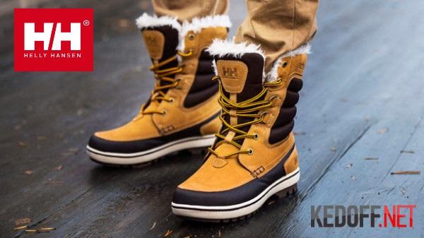 Ботинки Helly Hansen Garibaldi D-Ring. Зимняя обувь 2013 года.