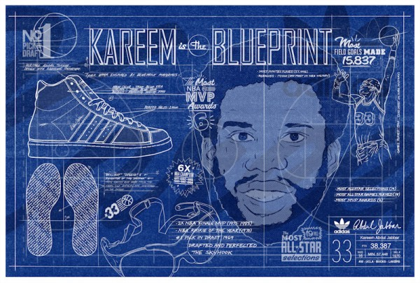 Adidas Jabbar Hi - The Blueprint