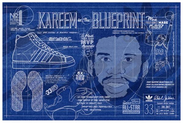 Adidas Jabbar Hi - The Blueprint