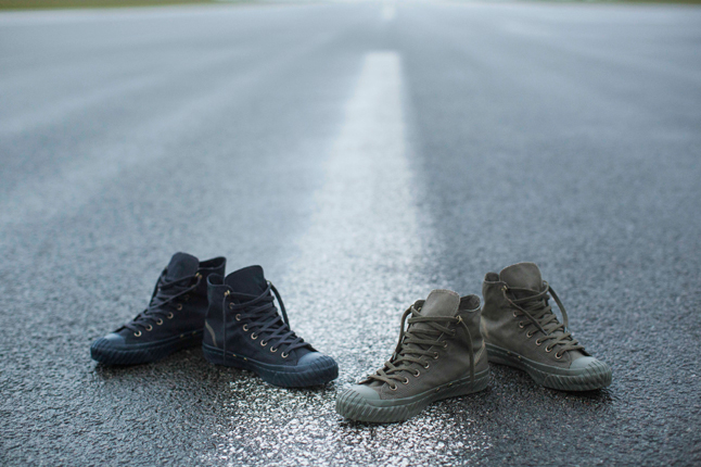 Nigel Cabourn x Converse first string collection