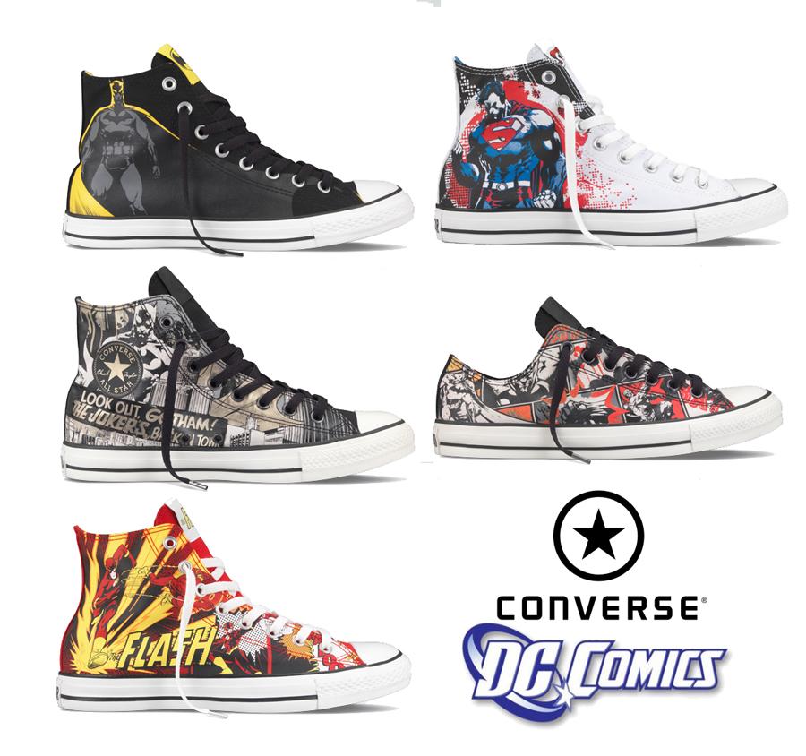 НОВЫЕ МОДЕЛИ КЕД Converse x DC Comics ВЕСНА ЛЕТО 2011