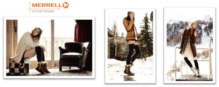 Элегантные зимние ботинки Merrell Dauphine.