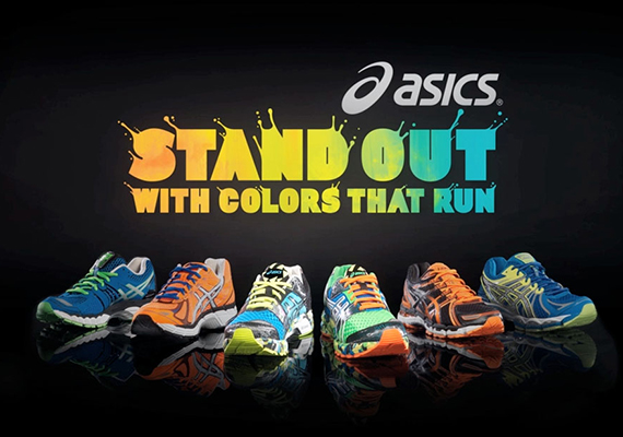 "Кроссовки Asics ""Colors That Run"" Collection"
