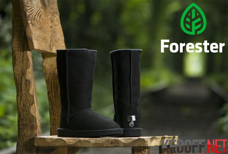 Угги Forester - cтильные меховые сапожки
