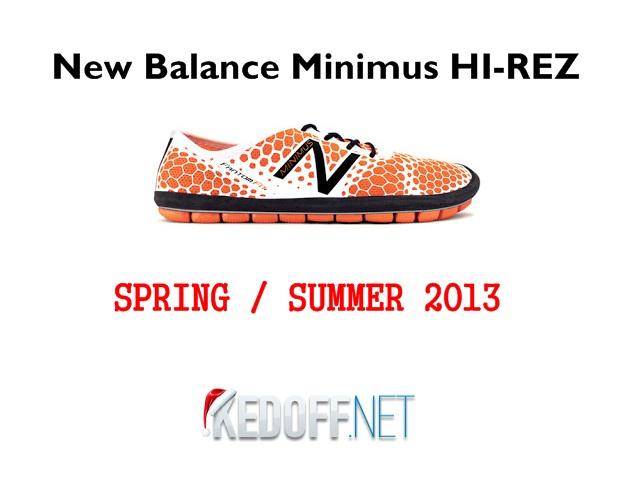 New Balance Minimus HI-REZ – кроссовки для естественного бега!