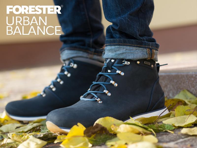 купить ботинки Forester на мембране