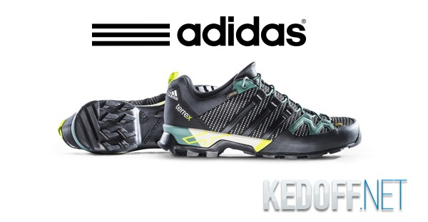 Adidas Terrex Scope GTX Лучшие Треккинговые кроссовки
