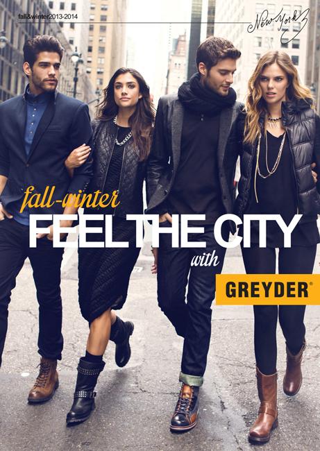 Новая коллекция Greyder осень-зима 2013/14