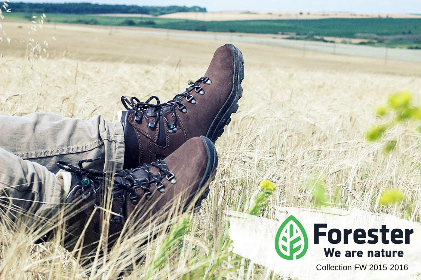 Осенняя обувь Forester