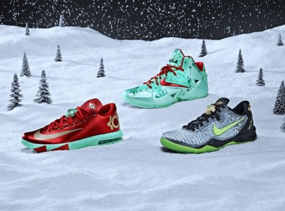 Nike Basketball 2013. Рождественская коллекция