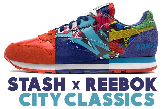 Reebok Classic Leather X Stash