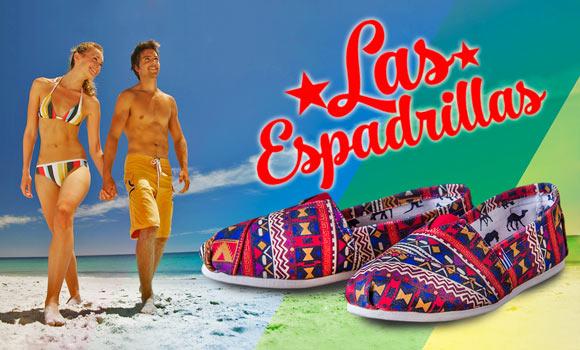 Пляжная обувь Las Espadrillas - раскрась свое лето