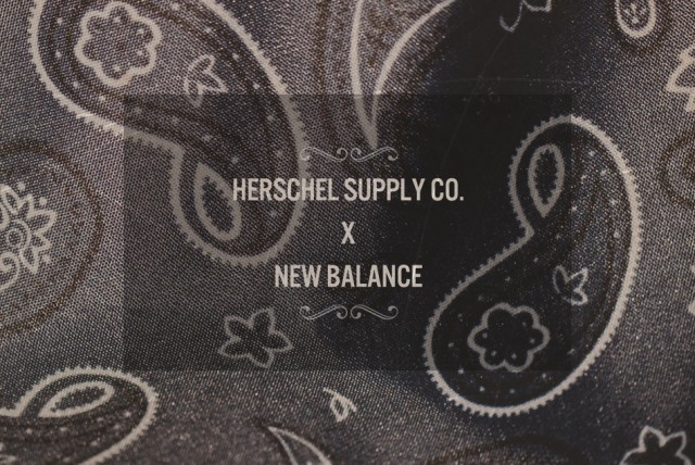Collaboration Herschel Supply Co x New Balance