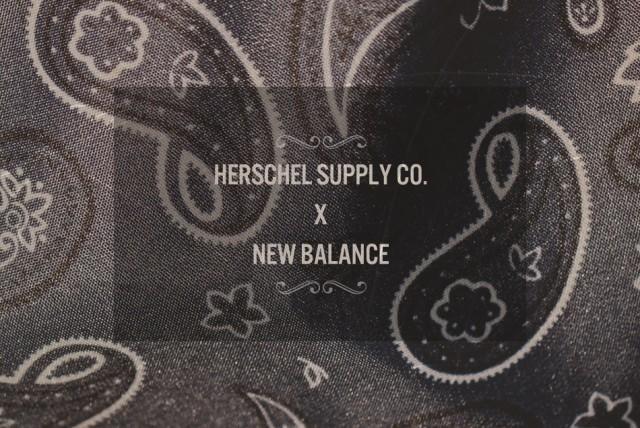 Collaboration Herschel Supply Co x New Balance