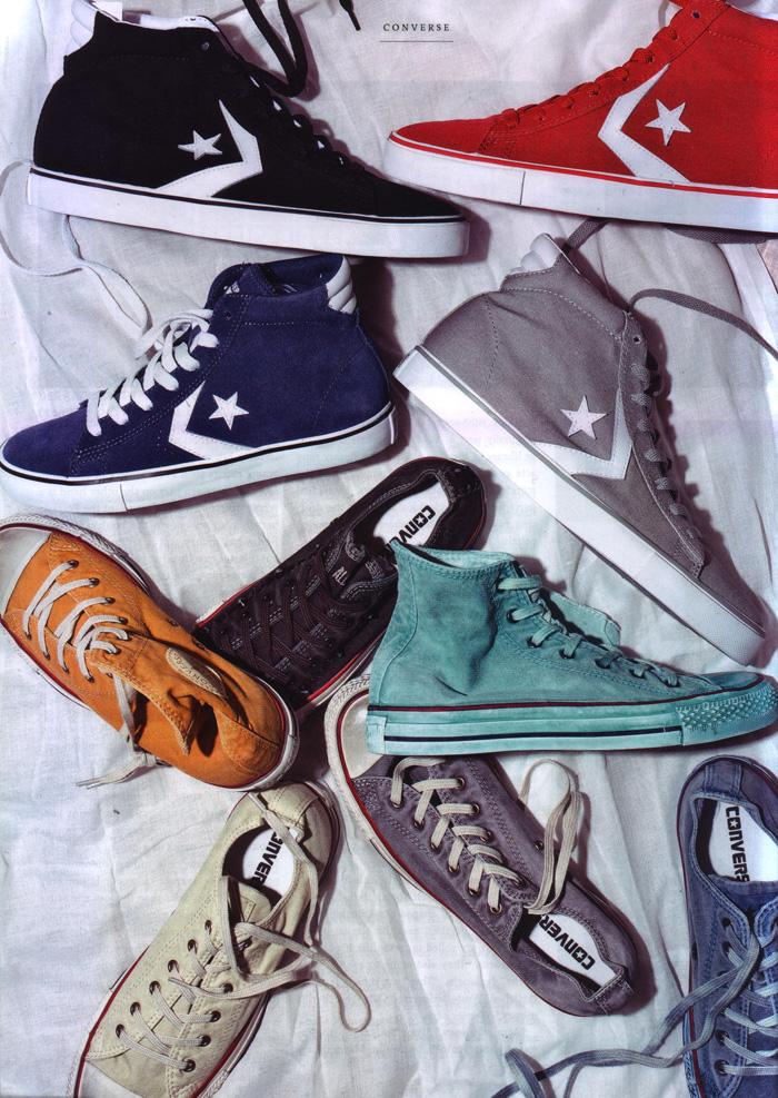Новые модели от Converse