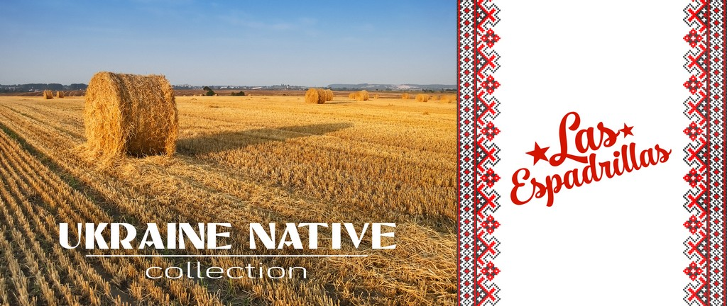 Las Espadrillas Ukraine Native Collection
