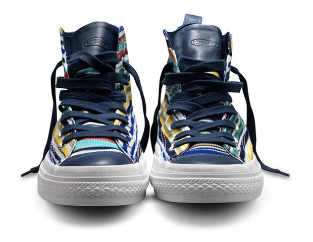 Кеды Converse от Missoni. Коллекция обуви 2011