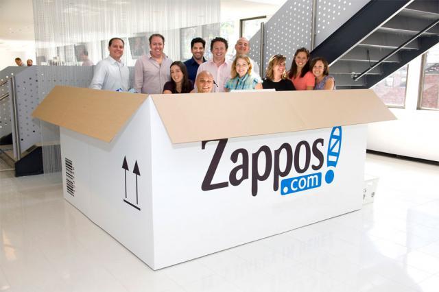 Все дороги ведут в Zappos.com Начало бума на обувной интернет бизнес