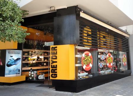 Магазины обуви Greyder в Европе и Азии