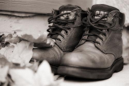 «Caterpillar» - революционная обувь.