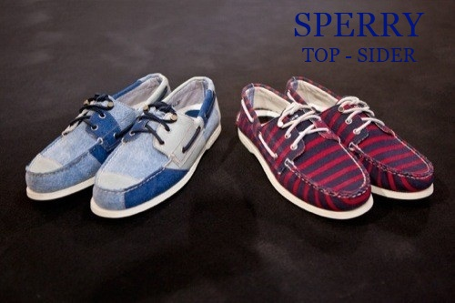 Коллекция мокасин Sperry Top-Sider х Band of Outsiders, Весна -Лето 2012