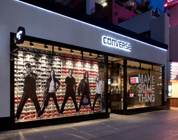 CONVERSE открыл флагманский магазин в Santa Monica, California