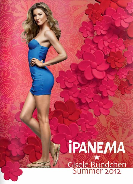 Ipanema весна-лето 2012 от Gisele Bundchen
