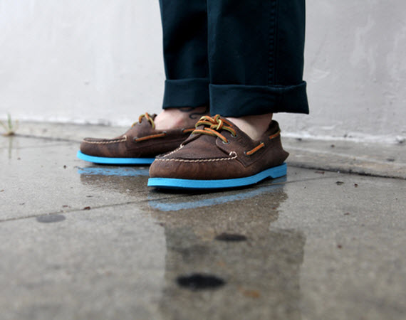 Sperry Top-Sider – 2-Eye Boat Shoe Весна / Лето 2012