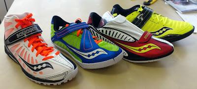 Компания Saucony пополняет модельный ряд шиповок.