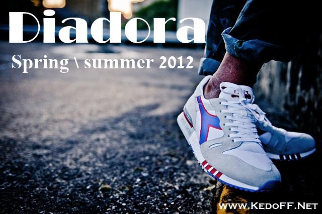 Кроссовки DIADORA Весна\Лето 2012