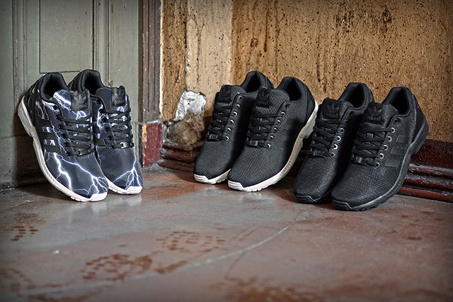 ADIDAS ORIGINALS ZX FLUX (BLACK ELEMENTS PACK)