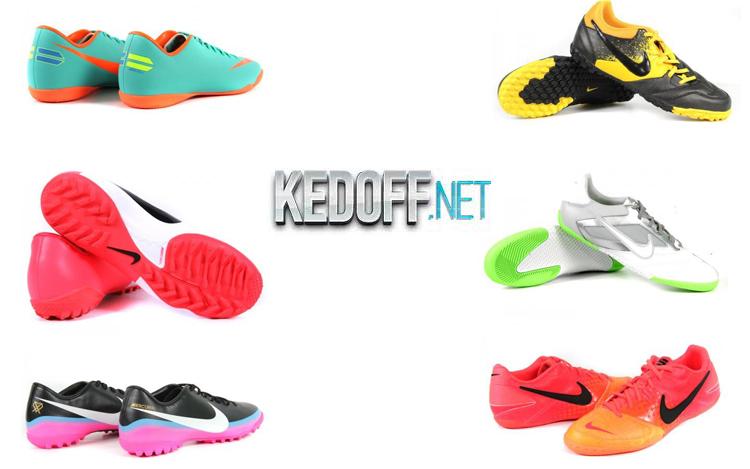 Обзор бутсов и футзалок Nike Mercurial, Nike Elastico, Diadora DD Eleven RTF, Nike Bomba University.