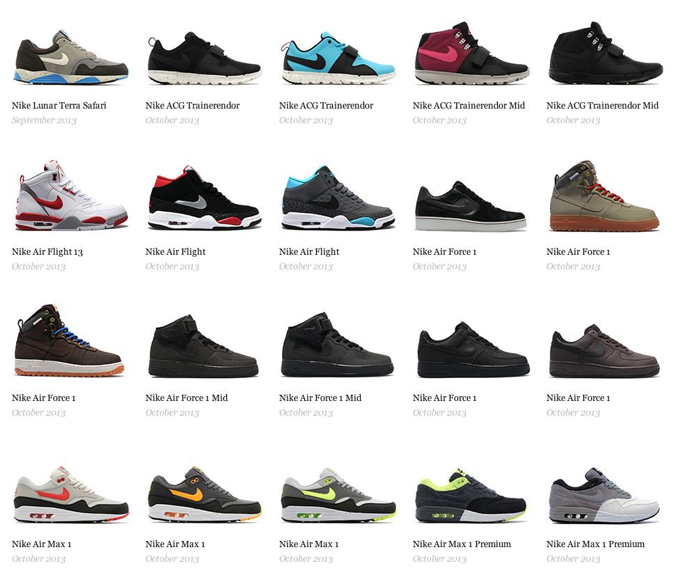 Nike — релизы сентября и октября
