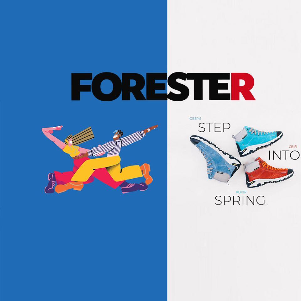 Итальянская обувь Forester Vibram