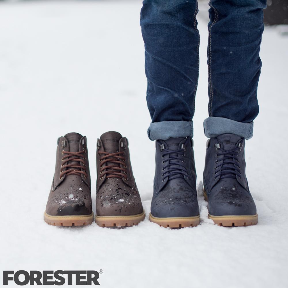 купить кожаные ботинки Forester 7751