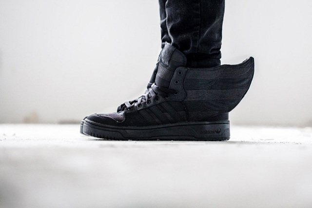 A$AP Rocky x adidas Originals by Jeremy Scott — WINGS 2.0 BLACK FLAG