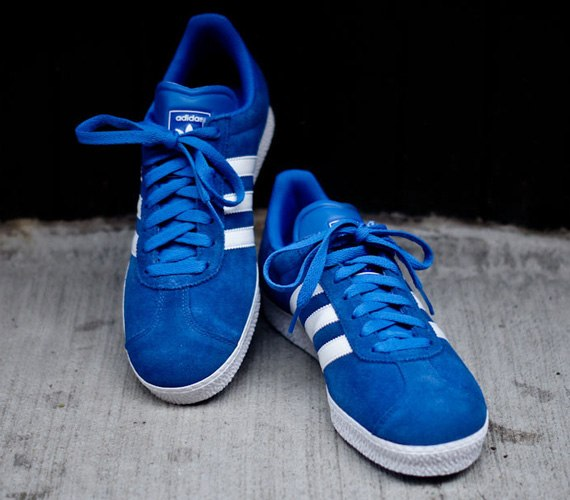 adidas Originals Gazelle II - Blue / White