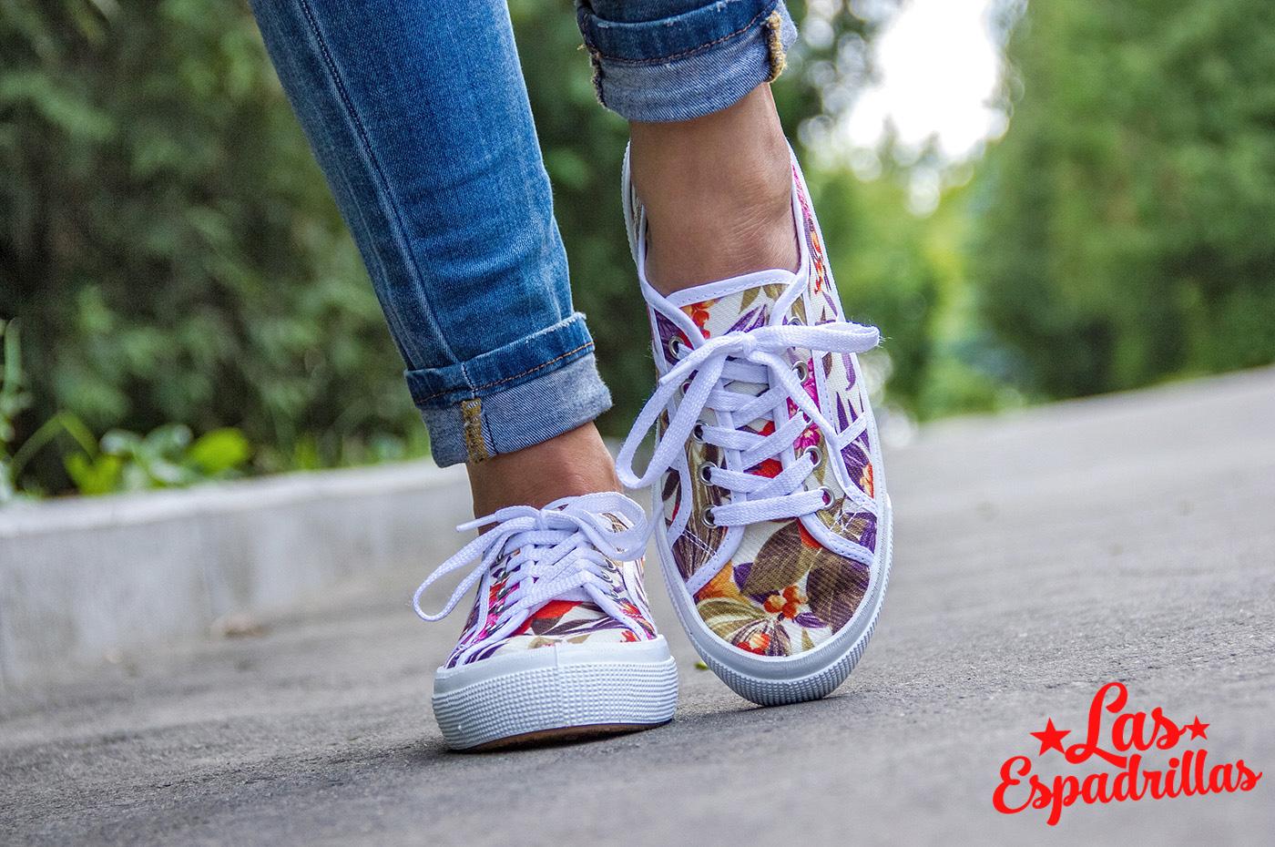Женская летняя обувь Las Espadrillas