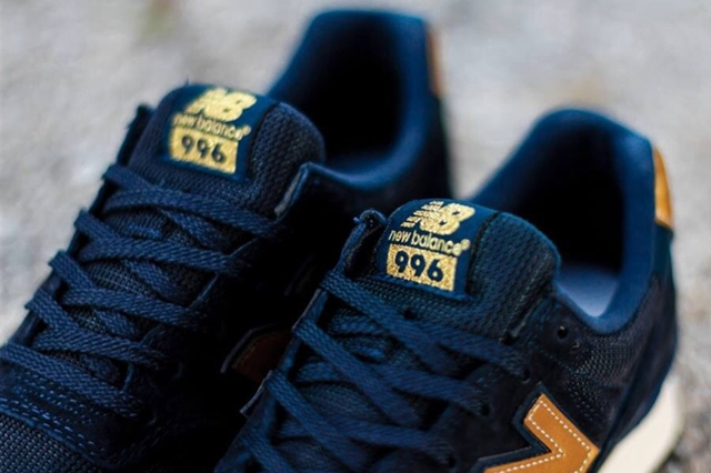NEW BALANCE WR996DOX GOLD COLLECTION