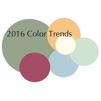 Трендовые цвета 2016 года