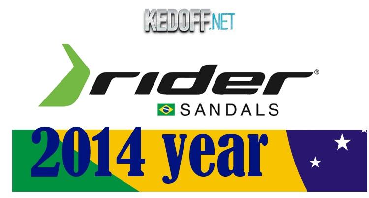 Бразильская пляжная обувь Rider. Коллекция 2014 года.