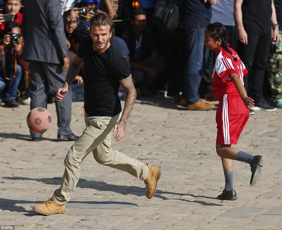 David Beckham выбирает обувь Palladium