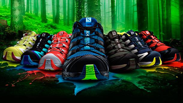 Salomon XA Pro 3D. Треккинговые кроссовки 2014