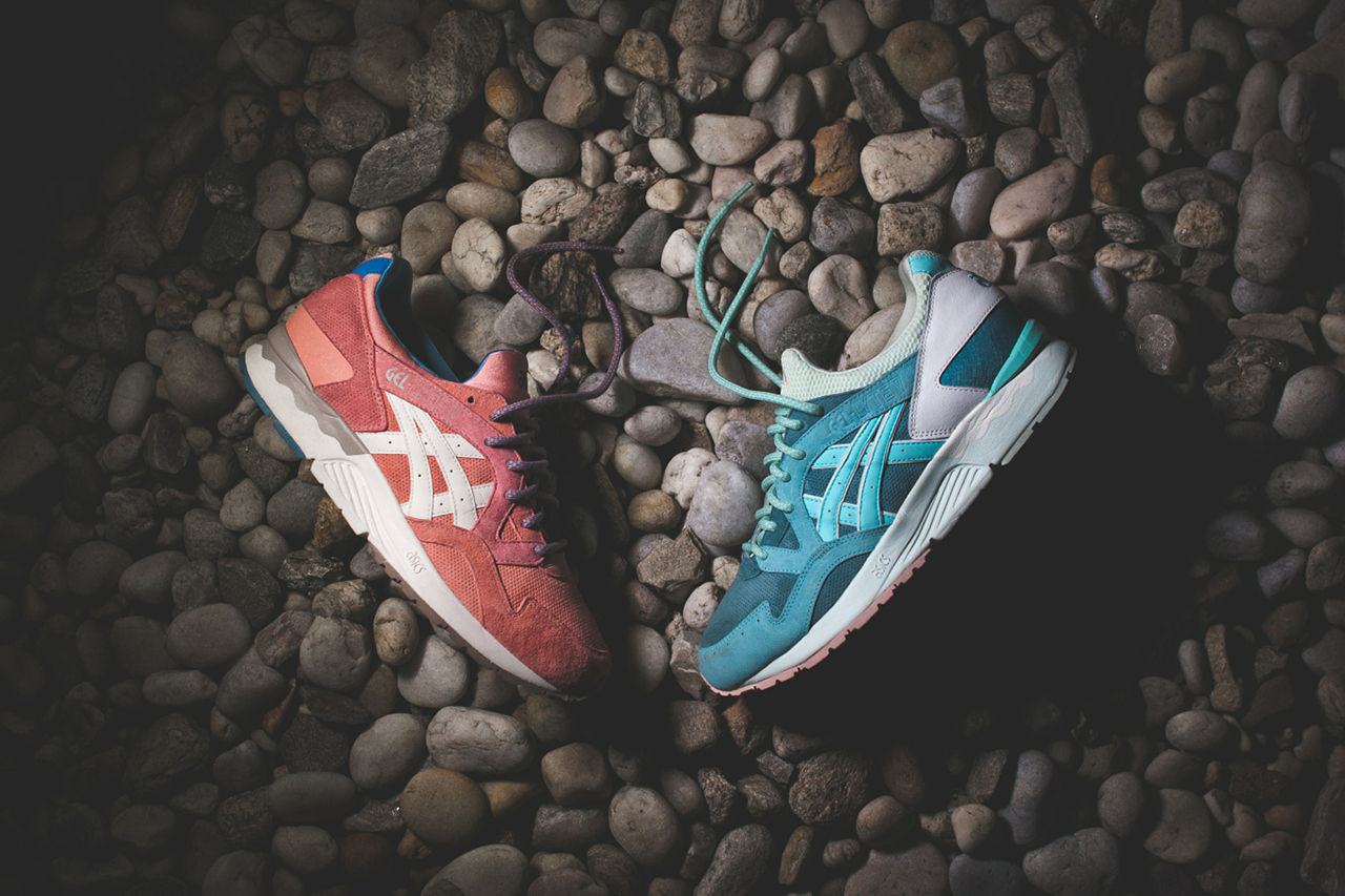 "ASICS Gel Lyte V ""Rose Gold"" & ""Sage"" x Ronnie Fieg"