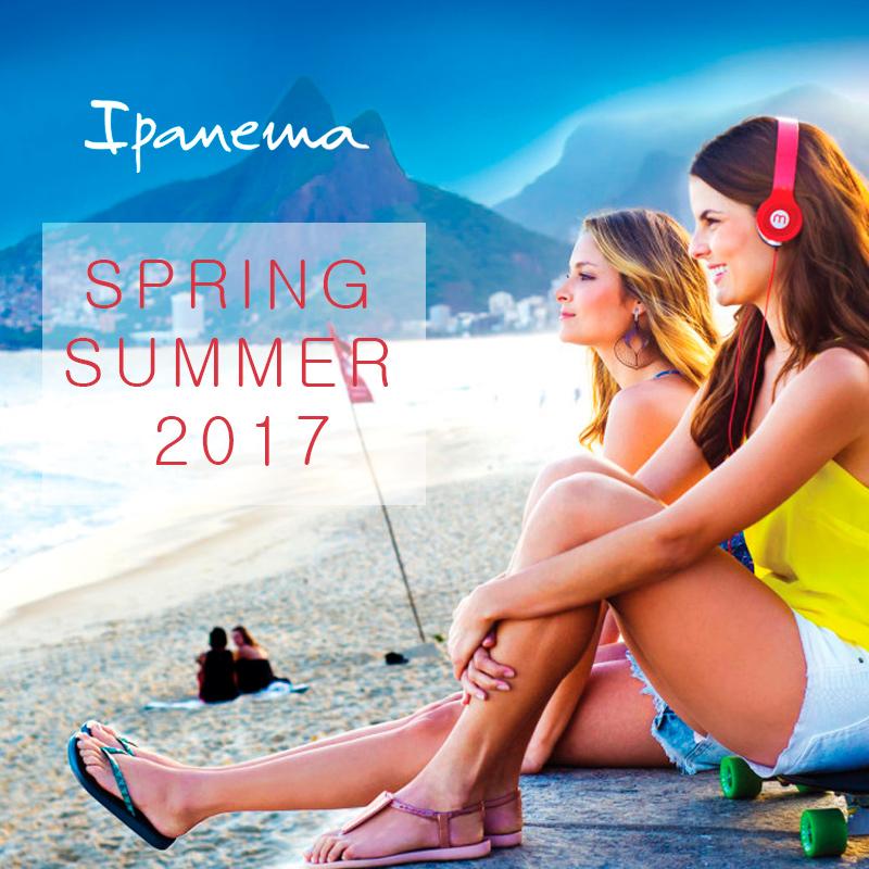 Новая коллекция бренда Ipanema 2017 года