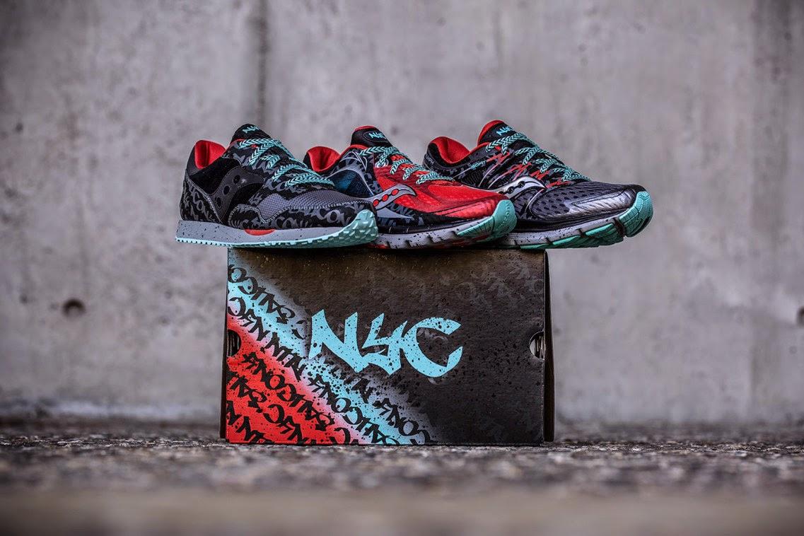 Saucony NYC Marathon Pack - лимитированная коллекция беговых кроссовок