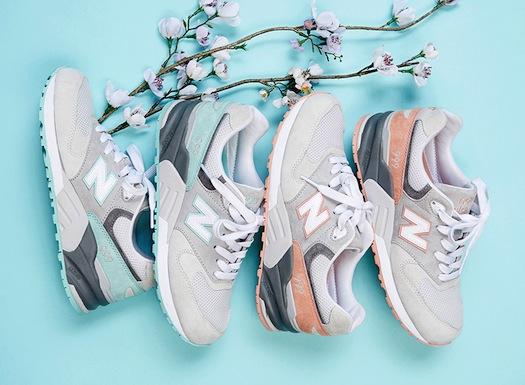 Коллекция женских кроссовок New Balance 999 Cherry Blossom Pack