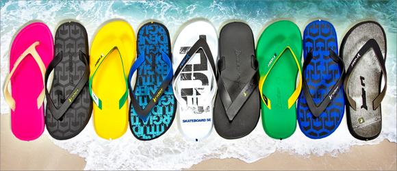 Распродажа пляжной обуви Rider