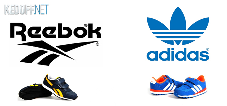 Новые детские кроссовки от Adidas и Reebok на Kedoff.net