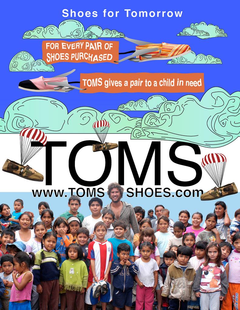 TOMS Shoes - успех который радует всех